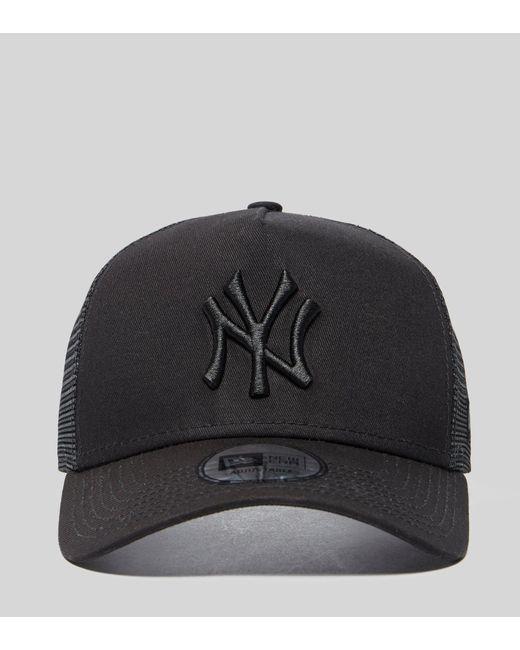 5d8f19ee4e7 ... KTZ - Black Mlb New York Yankees Snapback Trucker Cap for Men - Lyst ...