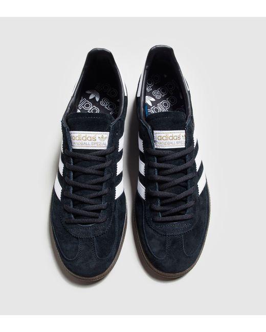 f5295b0cd2e6 ... Adidas Originals - Black Handball Spezial for Men - Lyst