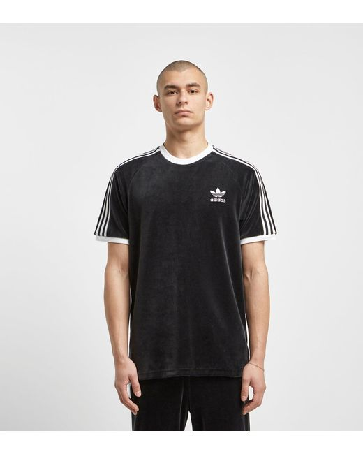 c3e1f995506 Adidas Originals - Black Cozy T-shirt for Men - Lyst ...