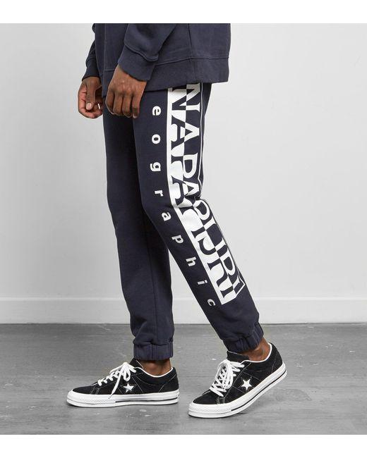 Napapijri   Blue Maget Pants for Men   Lyst