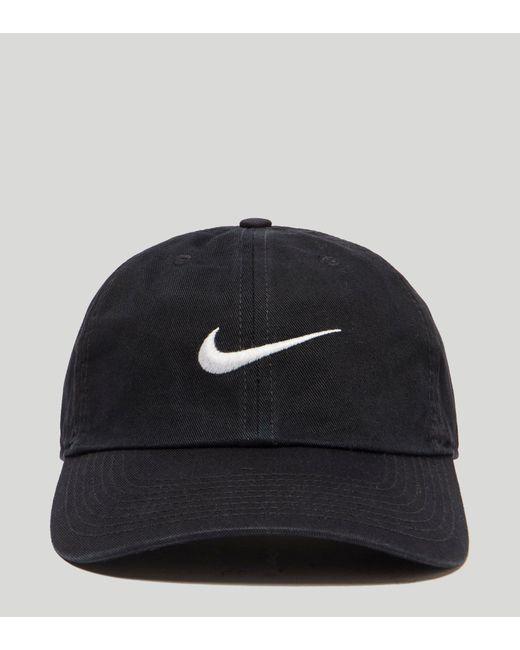 ... Nike - Black Swoosh 86 Cap for Men - Lyst ... 7dd5c23a7a26