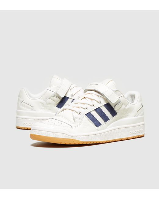 a5eee4e4adc ... shop adidas originals white forum low for men lyst 4ede3 ffd99 ...
