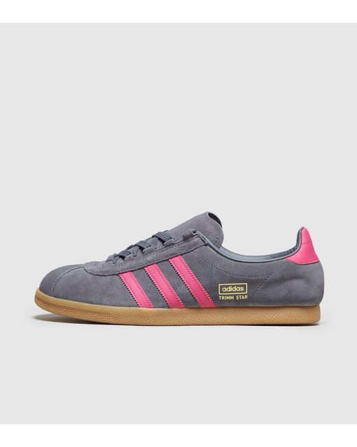 Adidas Originals - Gray Trimm Star - Size  Exclusive for Men - Lyst ... 35b976207