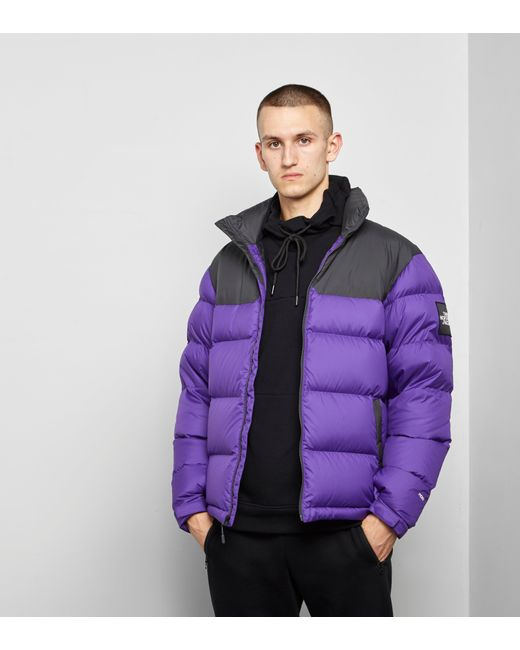 ... cheap for discount 1ab42 f79f4 The North Face - Black Label 1992 Nuptse  Jacket Purple Grey ... b88629bcc