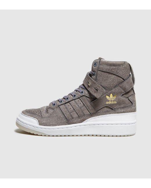 Adidas Originals Forum alto elaborado en blanco para hombres Lyst