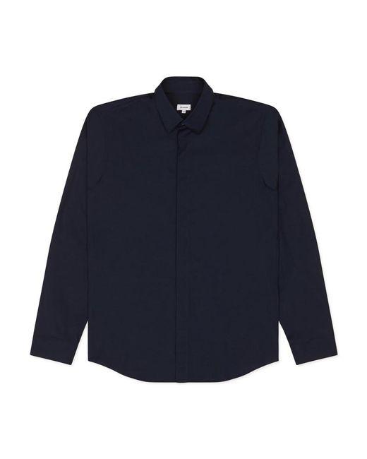Jil Sander - Blue P-bellezza Sl Shirt for Men - Lyst