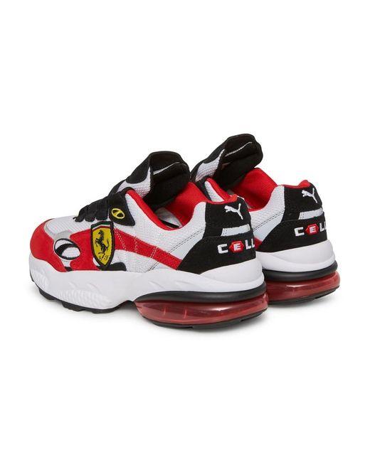 2f9fd476e6f1d6 ... PUMA - Red Scuderia Ferrari Cell Venom Sneakers for Men - Lyst ...