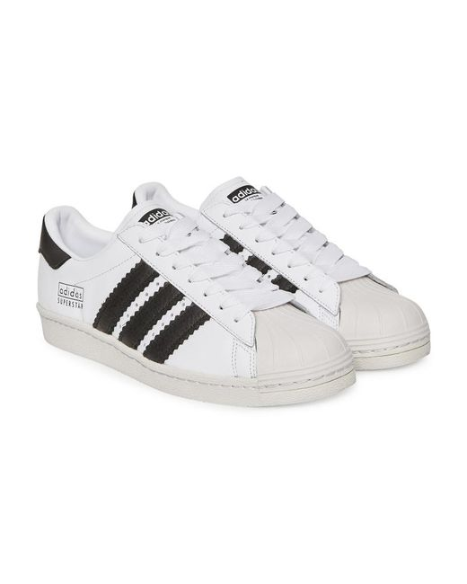39d1108ac46fc ... Adidas Originals - Multicolor Superstar 80s Sneakers Future White core  Black for Men - Lyst ...