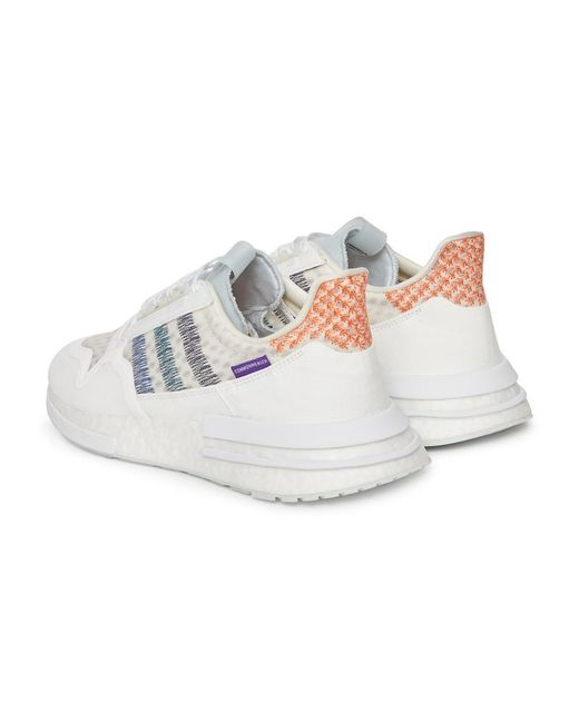 1eeccd2539f23 ... Adidas Originals - Multicolor Adidas X White Mountaneering Commonwealth  Zx 500 Rm Sneakers White for Men ...
