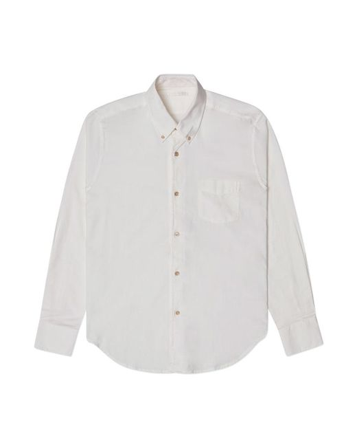 Our Legacy - White 1950's Basket Wave Shirt for Men - Lyst