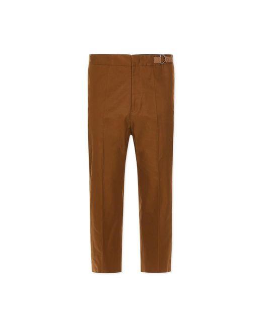 Jil Sander - Brown Preston S.02 Pants for Men - Lyst