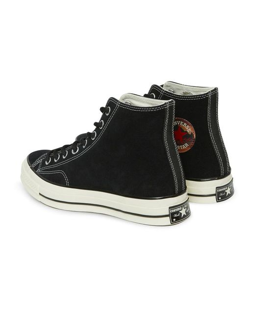 99b856852bb0 ... Converse - Black Chuck Taylor 70 Hi Base Camp Suede Sneakers - Lyst ...