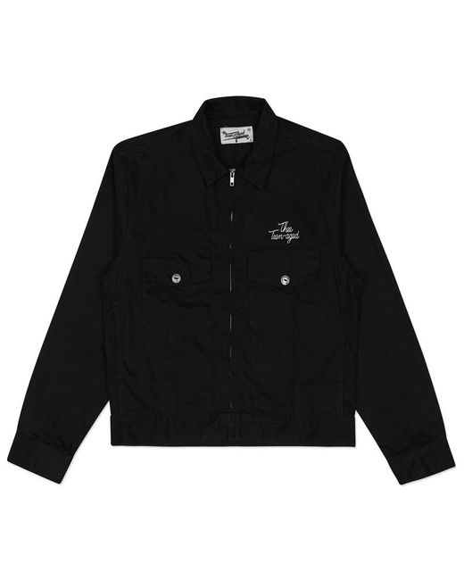 THEE TEEN-AGED! - Black Thee Union Jacket for Men - Lyst