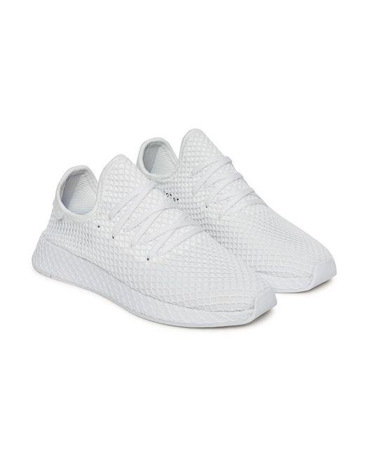 Lyst adidas Originals deerupt Runner zapatillas en blanco para los hombres