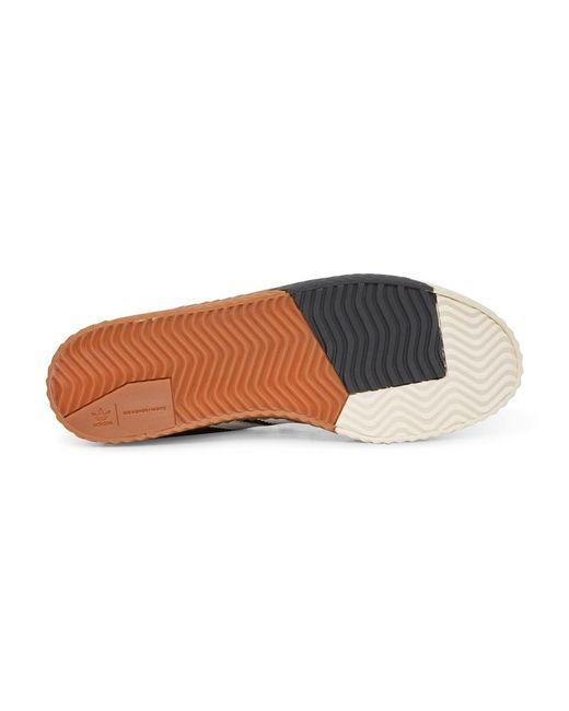 sale retailer 6ed5c 663a0 ... Adidas Originals - Black Alexander Wang Skate Super Sneakers for Men -  Lyst ...