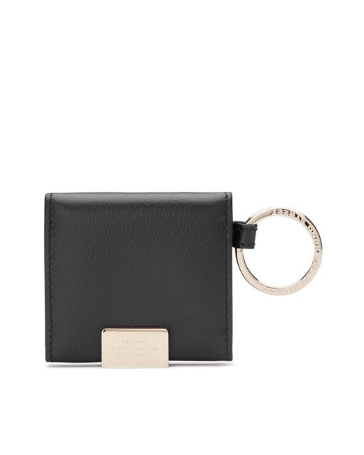 Smythson | Black Folding Photograph Keyring | Lyst