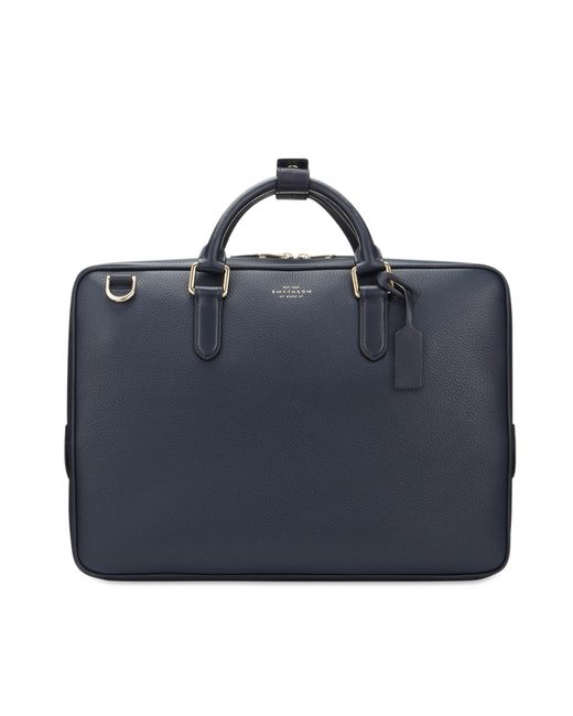 Burlington - Blue Slim Briefcase for Men - Lyst