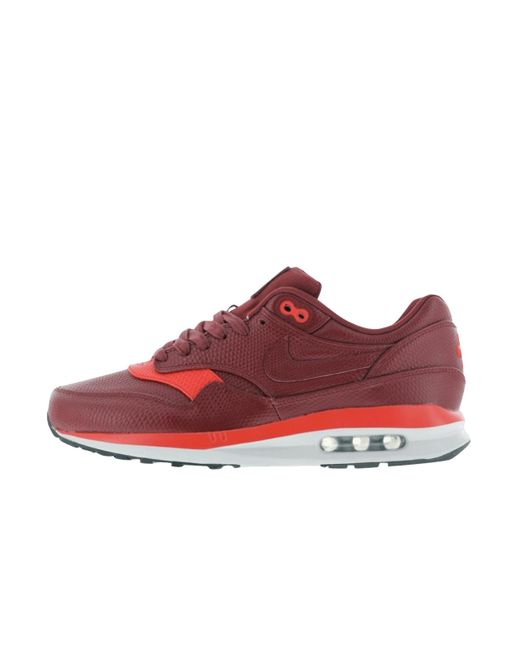 Nike   Red Air Max Lunar 1 Deluxe   Lyst