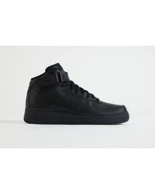 ca85e9a91332f2 Lyst - Nike Air Force 1 Mid in Black for Men