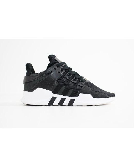 the best attitude aa920 52a6a Adidas  Black Eqt Support Adv for Men  Lyst ...