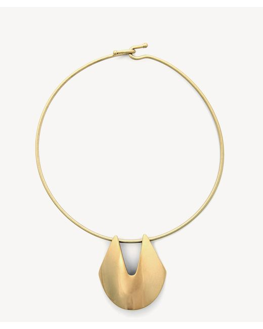 Sole Society - Metallic Metal Collar - Lyst