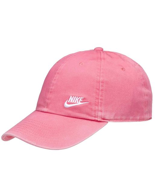 42c6be05b60 Nike - Pink Heritage 86 Embroidered - Lyst ...