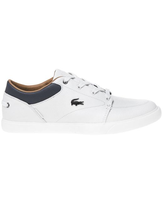 39b3862113a6fc ... Lacoste - White Bayliss Trainers for Men - Lyst ...
