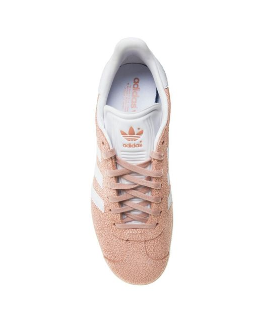 best authentic 645f0 e540c ... Adidas - Multicolor Gazelle Trainers - Lyst ...