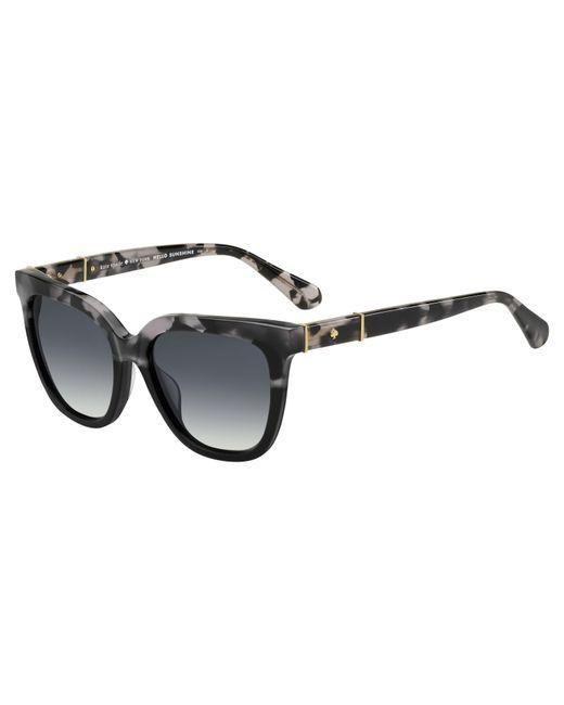 Kate Spade - Black Kahli/s Cat Eye Sunglasses - Lyst