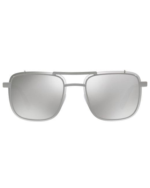 73a4f3a37d Prada - Multicolor 59us Rectangle Sunglasses for Men - Lyst