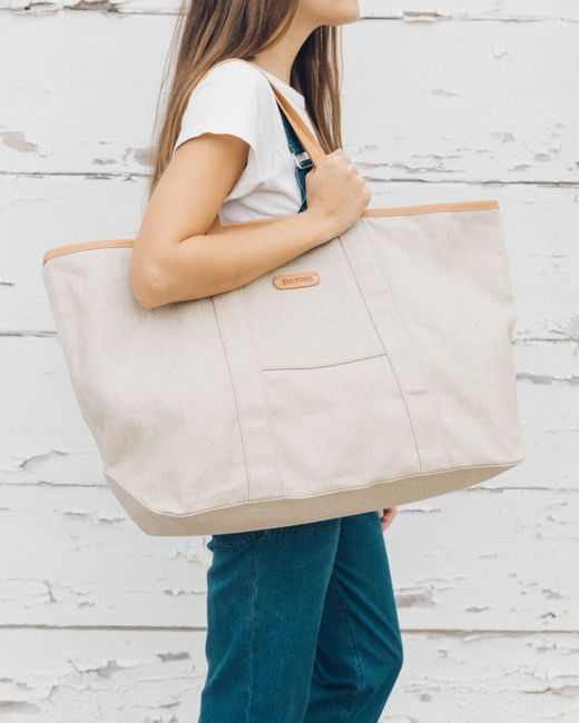 Soludos - Natural Minorca Canvas Beach Tote - Lyst