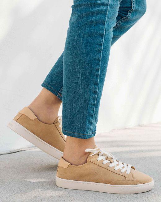 Soludos - Blue Ibiza Suede Sneaker - Lyst