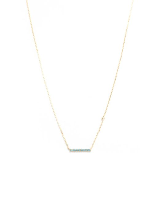 South Moon Under - Multicolor Turquoise Stick Necklace - Lyst