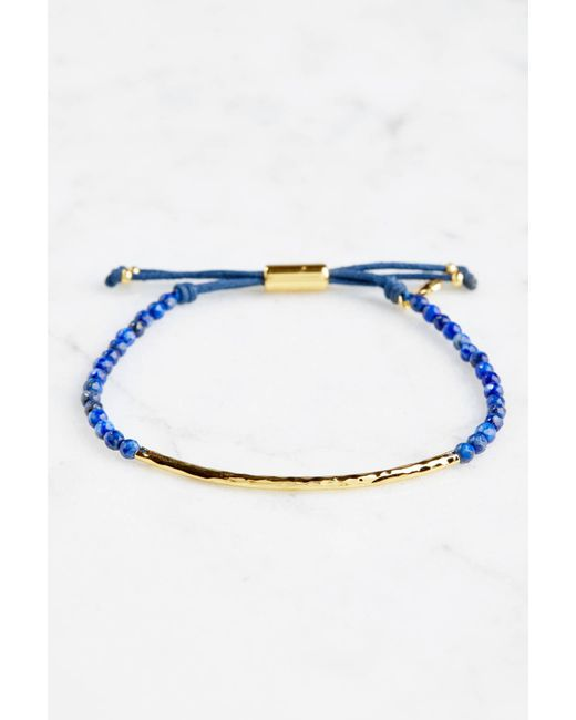 Gorjana - Blue Wisdom Power Gem Stone Bracelet - Lyst