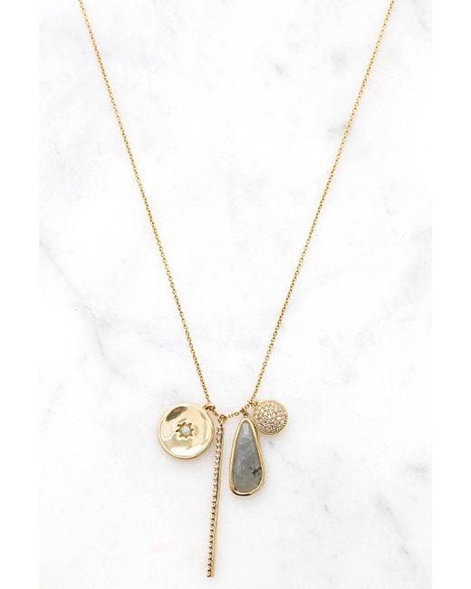 Tai - Metallic Charm Pendant Necklace - Lyst