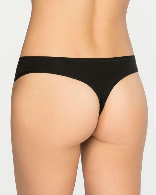 Spanx Black Butt Naked But Better Thong Lyst