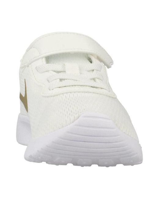 ... Lyst Nike | Tanjun (psv) Women's Shoes (trainers) In White ...