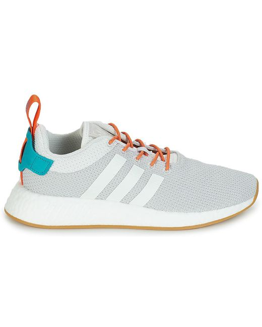 f7b8779fc700b ... Lyst Adidas - Multicolor Nmd R2 Summer Women s Shoes (trainers) In  Multicolour ...