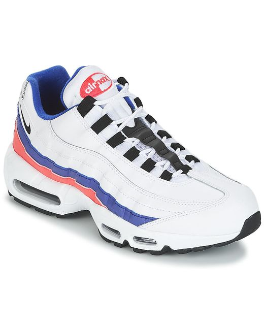 online store f5bc2 96c0f ... nike air max 95 essential mens shoes (trainers) in white for men