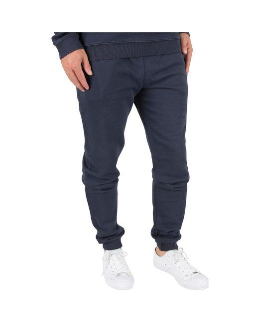 Farah - Men's Shalden Jersey Jogger, Blue Men's Sportswear In Blue for Men - Lyst