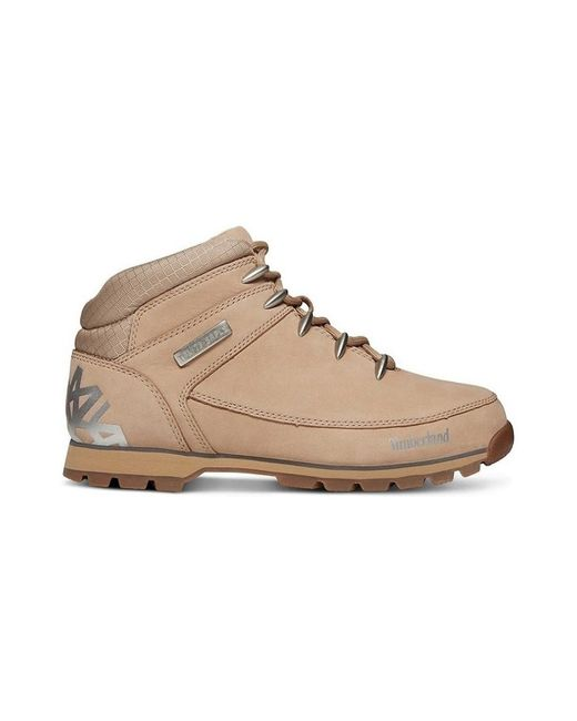 b4121c18bbac Timberland - Natural Euro Sprint Hiker Men s Shoes (high-top Trainers) In  Multicolour ...