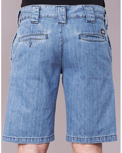 Dickies Dm873 Short Shorts In Blue For Men Lyst
