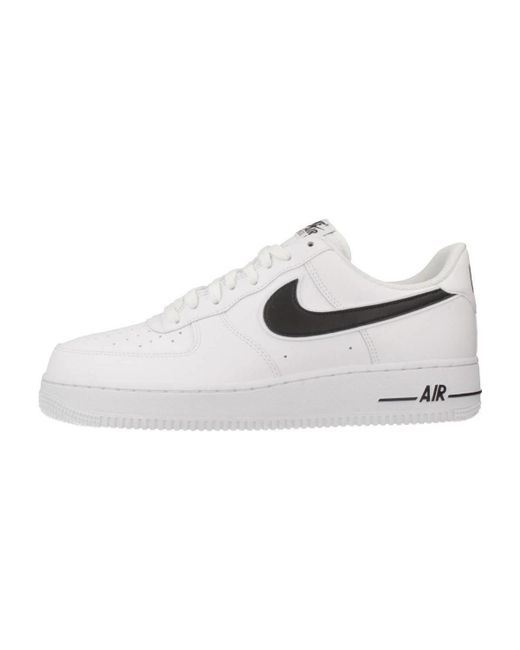 525c23c9de2cb Nike Air Force 1 07 Men s Shoes (trainers) In White in White for Men ...