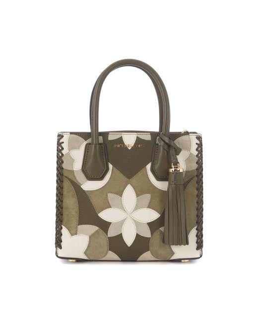 MICHAEL Michael Kors | Michael Kors Mercer Olive Green Handbag Women's Shoulder Bag In Green | Lyst