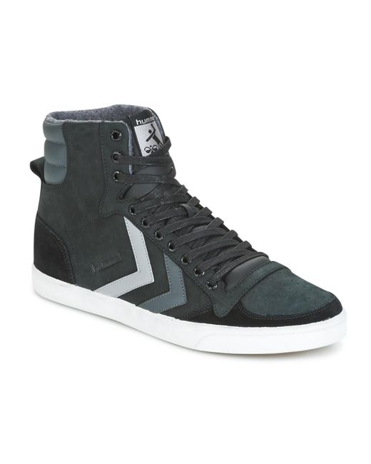 HummelSTADIL DUO - High-top trainers - black Xs4rnRKK
