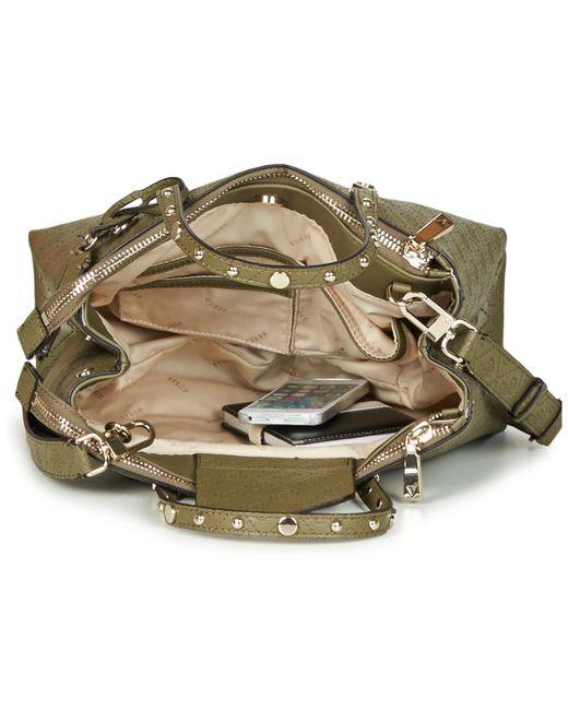 ... Lyst Guess - Coast To Coast Status Satchel Women s Handbags In Green  for Men ... bd6d0247c5933