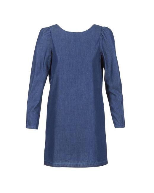 ONLY - Blue Mila Dress - Lyst