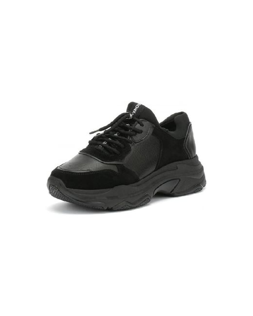 840a2736c57c53 ... Bronx - Black Basket Femme Baisley-66167-G-01 femmes Chaussures en Noir
