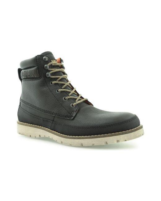 Napapijri - Trygve Mid Lace Boot Black Men's Mid Boots In Black for Men - Lyst