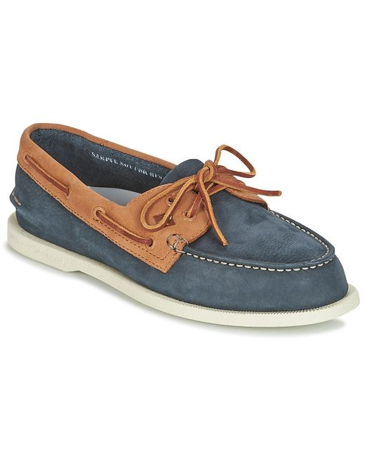 Sperry Top-Sider - Blue A/o 2-eye Washable Boat Shoes for Men - Lyst